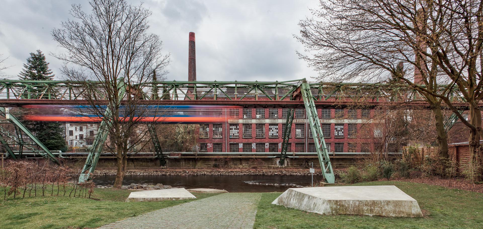 August Schwebebahn Wuppertal