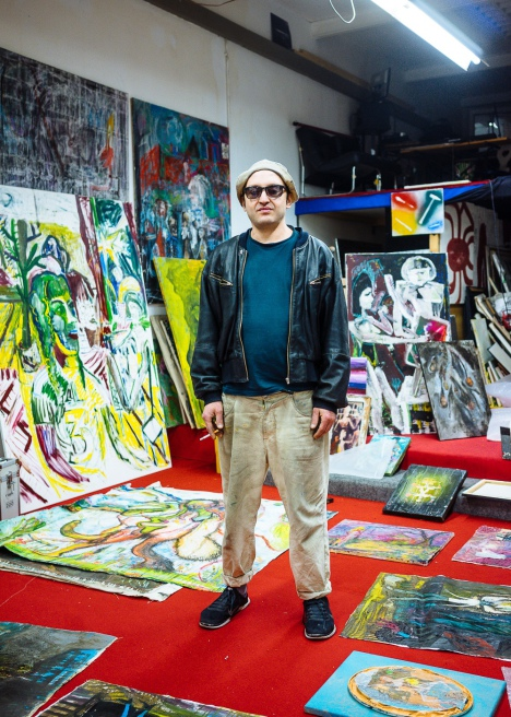 Portrait of Ali Altin, Artist from Duesseldorf by Felix Gemein